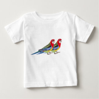 Parrot image for Baby Fine Jersey T-Shirt, White Baby T-Shirt