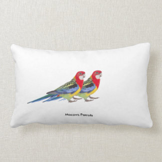 Parrot image for Lumbar Pillow