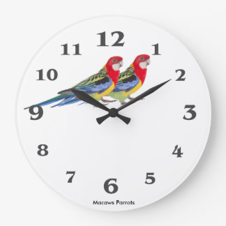 Parrot image for Round (Large) Wall Clock