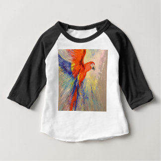 Parrot in flight baby T-Shirt