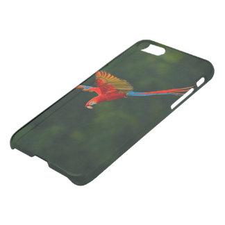 Parrot in Flight iPhone 8/7 Case
