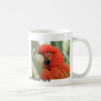 PARROT IN PARADISE MERCHANDISE CLASSIC WHITE COFFEE MUG