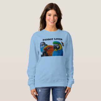 Parrot Lover Women's Basic Sweatshirt, Customize Sweatshirt