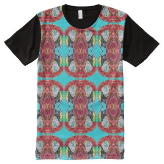 Parrot Macaw Ca-Caw All Over Print Tee