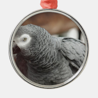 Parrot Metal Ornament