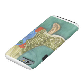 Parrot on hand iPhone Tough Case