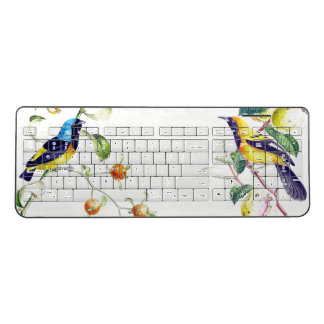 Parrot Oriole Birds Animal Wireless Keyboard