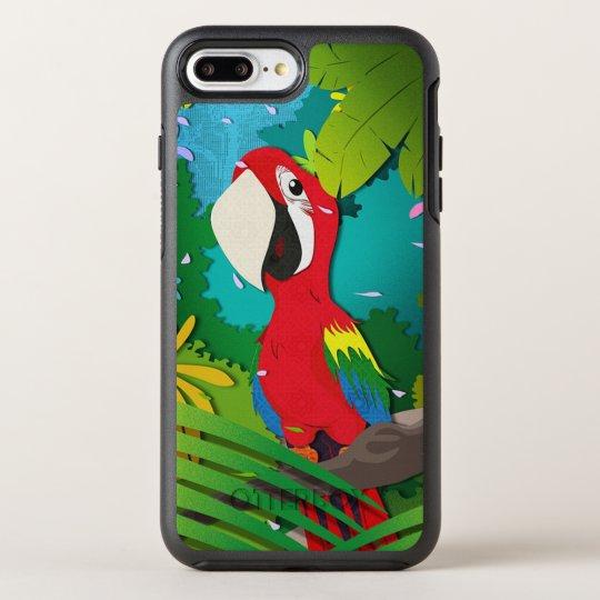 Parrot OtterBox Symmetry iPhone 8 Plus/7 Plus Case