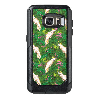 Parrot Pattern With Palm Leaves OtterBox Samsung Galaxy S7 Case