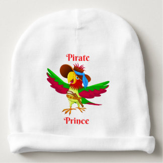 Parrot Pirate Prince Baby Cotton Beanie Baby Beanie