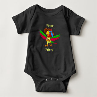 Parrot Pirate Prince Baby Jersey Bodysuit