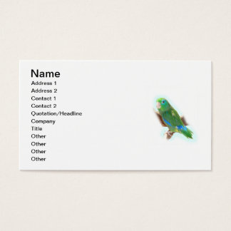 Parrot Rescue Business Card