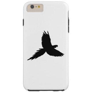 Parrot Silhouette Tough iPhone 6 Plus Case