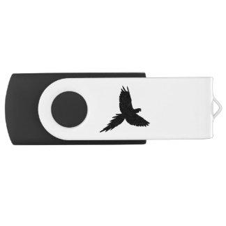 Parrot Silhouette USB Flash Drive