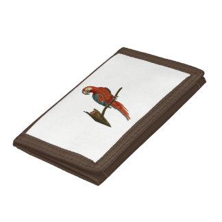 Parrot Tri-fold Wallet