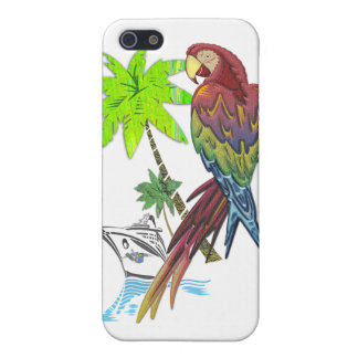 Parrot Tropical Cruise iPhone 5/5S Cover