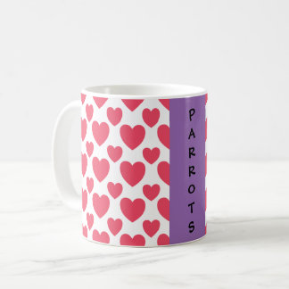 Parrot Valentine Coffee Mug