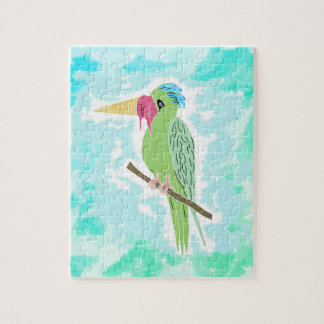 Parrot with an Ice cream Jigsaw Puzzle