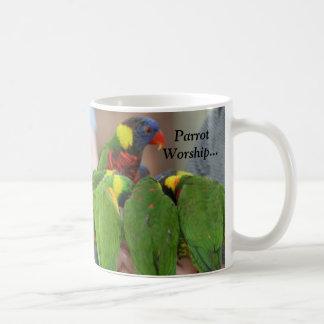 Parrot Worship... Coffee Mug