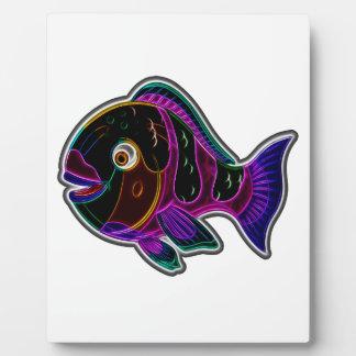 Parrotfish Plaque