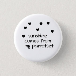 Parrotlet, Parrot button, bird button