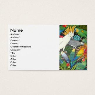 Parrots & Bromeliads Profile Card