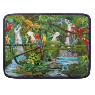 PARROTS IN PARADISE SLEEVE FOR MacBook PRO