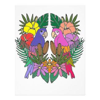 Parrots Letterhead