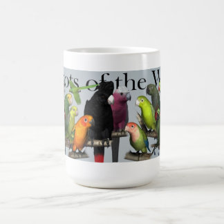 Parrots of the World Coffee Mug