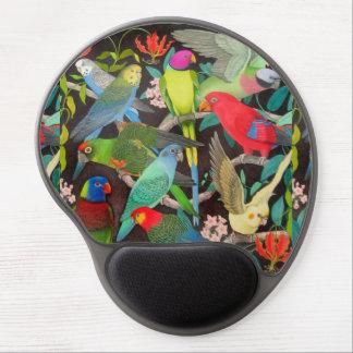 Parrots of the World II Gel Mousepad