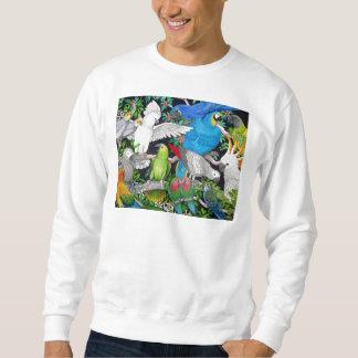 Parrots of the World Sweatshirt