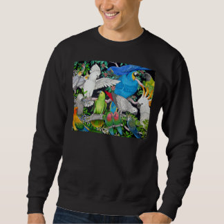 Parrots of the World Sweatshirt