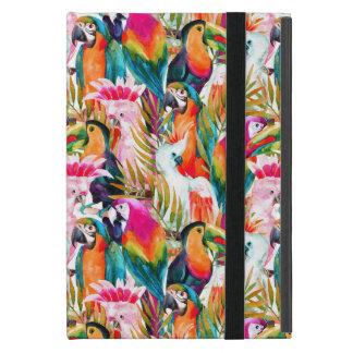 Parrots & Palm Leaves iPad Mini Case