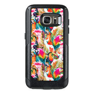 Parrots & Palm Leaves OtterBox Samsung Galaxy S7 Case