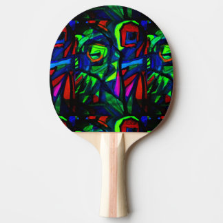Parrots Ping Pong Paddle