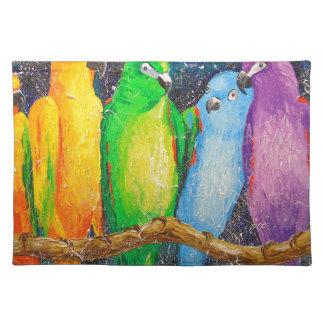 Parrots Placemat