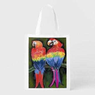 Parrots Reusable Grocery Bag
