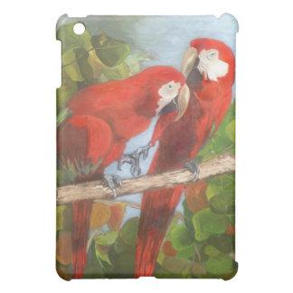 Parrots Sharing Secrets iPad Mini Case