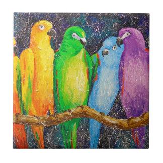 Parrots Tile