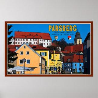 Parsberg - Stadtmitte Poster