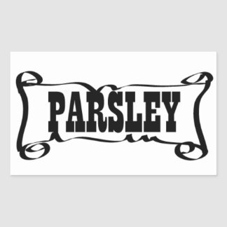 PARSLEY 'SPICE JAR' STICKER
