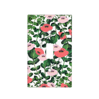 Parsnip & Poppies Light Switch Cover