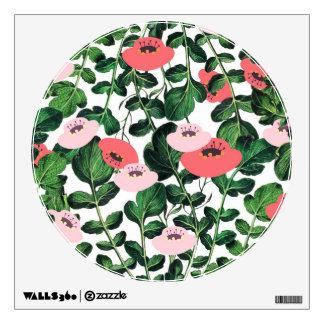 Parsnip & Poppies Wall Sticker