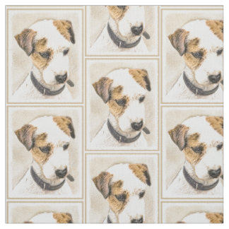 Parson Jack Russell Terrier Fabric