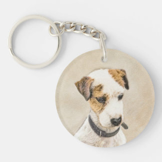 Parson Jack Russell Terrier Keychain