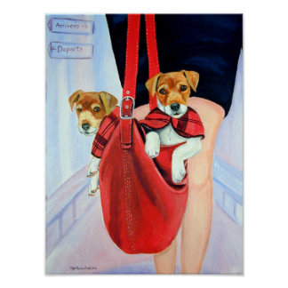 Parson Jack Russell Terrier PRINT