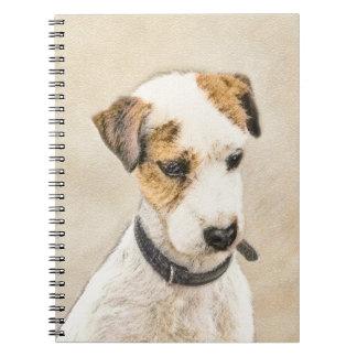 Parson Jack Russell Terrier Spiral Notebooks