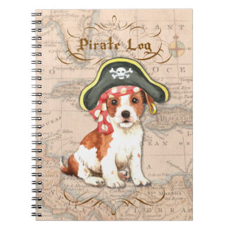 Parson Russell Pirate Spiral Note Book