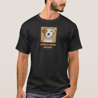 Parson Russell Terrier Cartoon T-Shirt