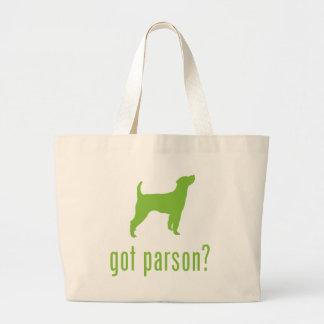 Parson Russell Terrier Jumbo Tote Bag
